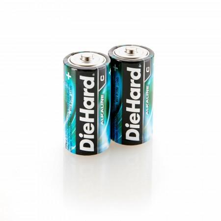 DieHard 2 C Batteries