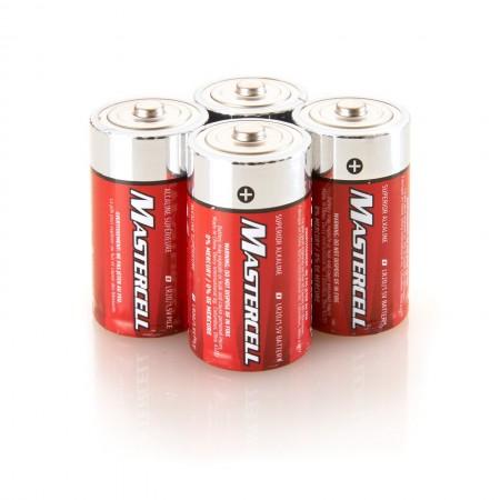 Mastercell D Alkaline (4 Pack)