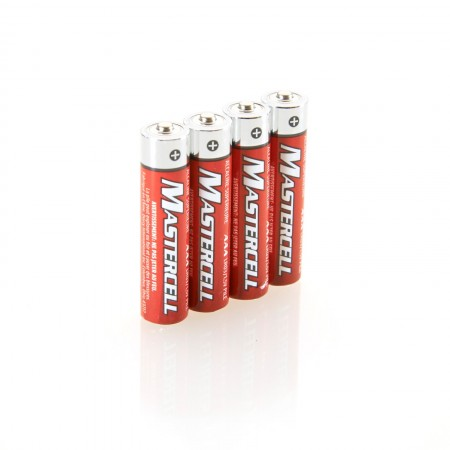 Mastercell AAA Alkaline Batteries (4 Pack)