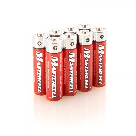 Mastercell AA Alkaline (8 Pack)