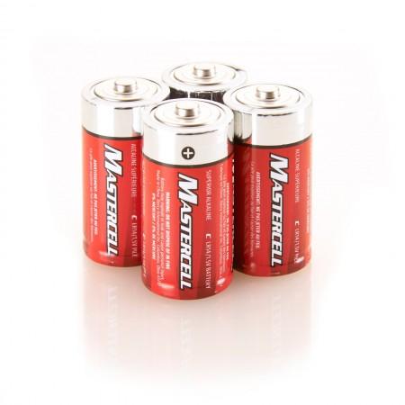Mastercell C Alkaline (4 Pack)