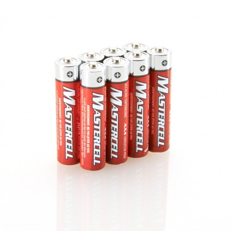 Mastercell AAA Alkaline (8 Pack)