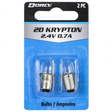 41-1660 2D Krypton Replacement Bulbs