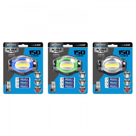 LED COB Headlamp Assorted