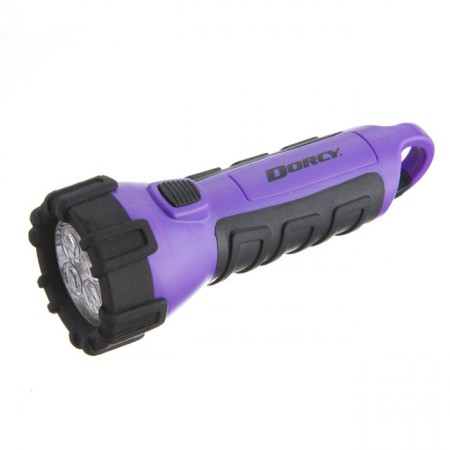 55 Lumen Purple Floating Flashlight