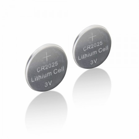 Mastercell Lithium 2025 Coin Cell Batteries (2 Pack)
