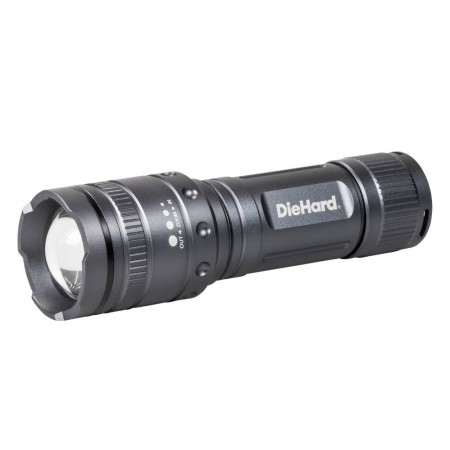DieHard Twist Focus 1000 Lumen Flashlight