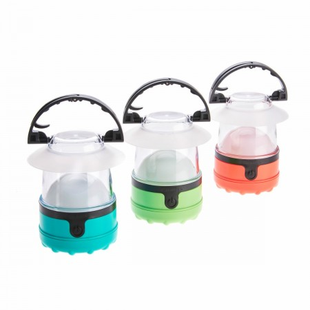 LED Mini Lanterns with Batteries 3 Pack