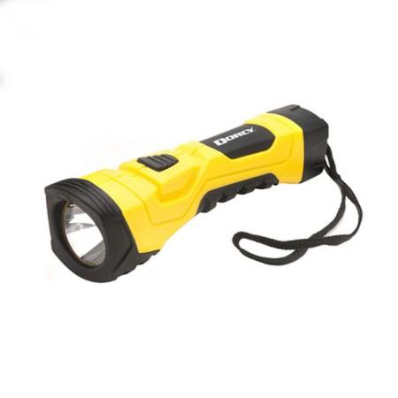 200 Lumen LED Flashlight  Yellow