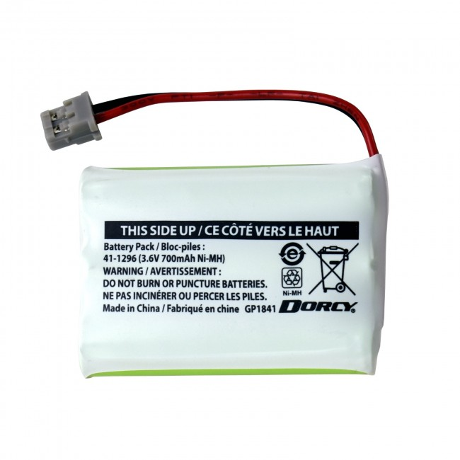 41-1296 Replacement Cordless Phone Battery