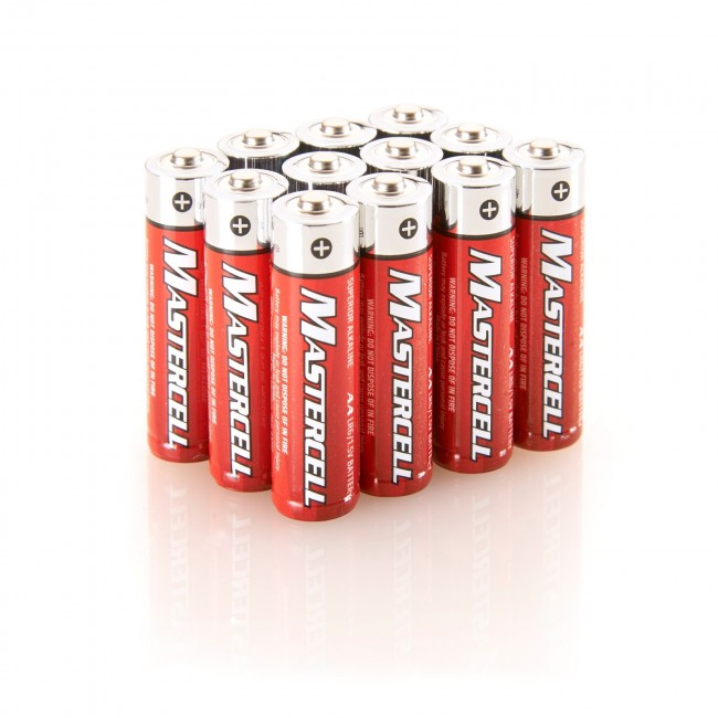 Mastercell 12 AA Alkaline