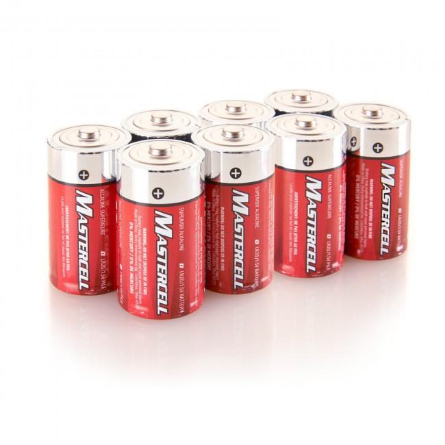 Mastercell D Alkaline (8 Pack)