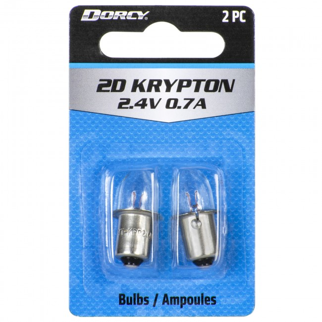 41-1660 2D Krypton Replacement Bulbs