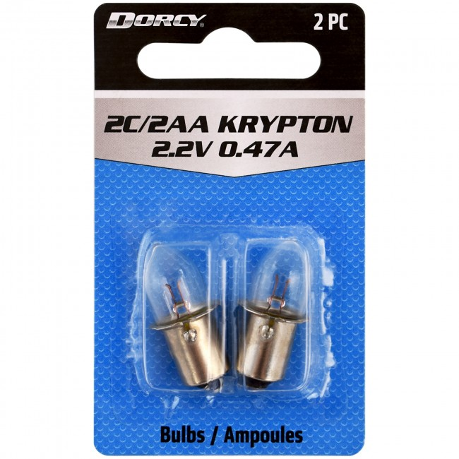 41-1662 2C/2AA Krypton Replacement Bulb