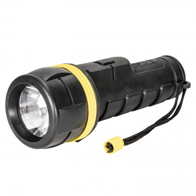 LED Rubber Flashlight
