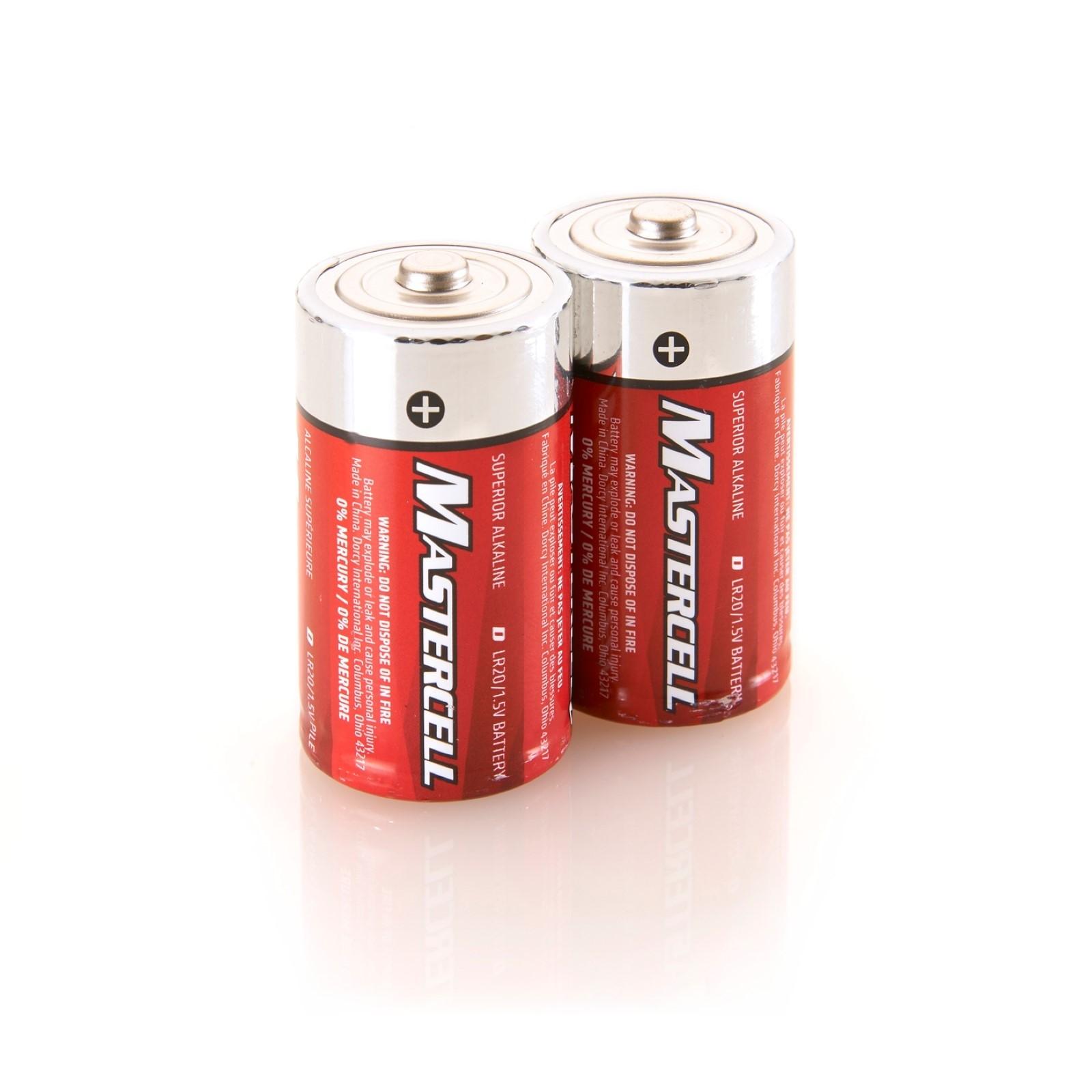 Mastercell D Alkaline (2 Pack)