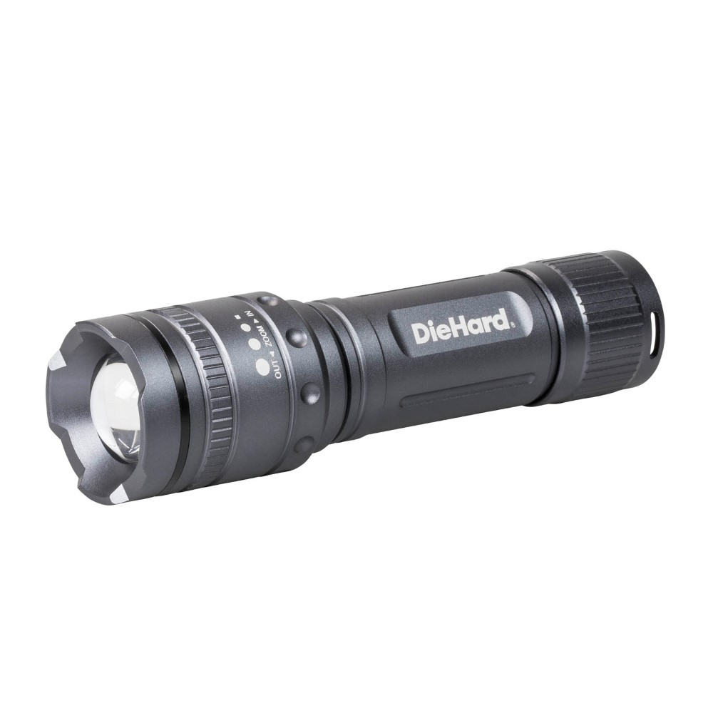 DieHard Twist Focus 600 Lumen Flashlight