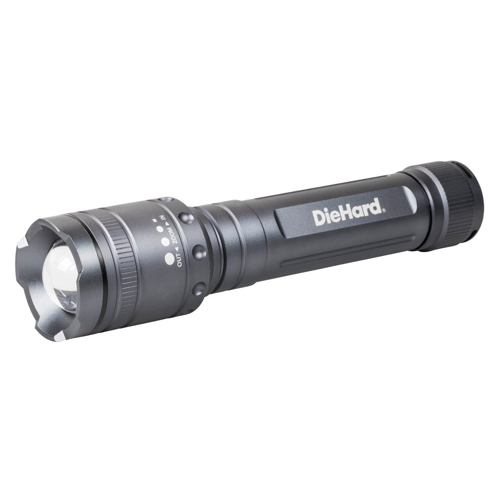 DieHard Twist Focus 2,400 Lumen Flashlight
