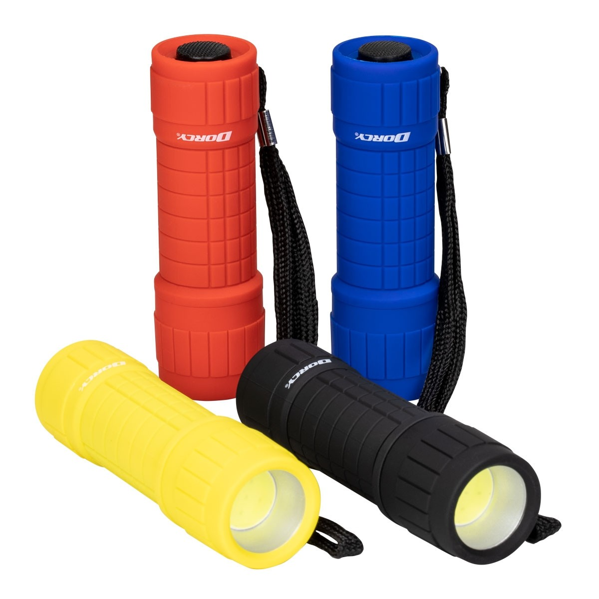 100 Lumen COB Flashlight Combo 4-Pack